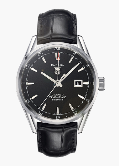 Tag Heuer Carrera Calibre 7 Automatic Twin Time Image